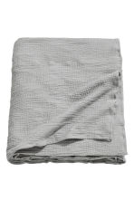 Crinkled cotton bedspread - Grey - Home All | H&M CN 2