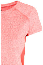 Sports top - Coral marl -  | H&M CN 3