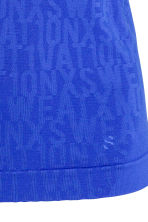 Seamless running vest - Blue - Ladies | H&M CN 4