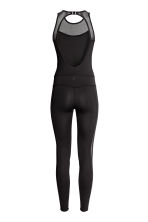 Yoga jumpsuit - Black - Ladies | H&M 3