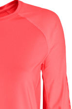 Sports top - Neon coral - Ladies | H&M 4