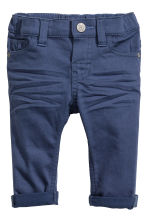 Stretch trousers Skinny Fit - Dark blue - Kids | H&M 1