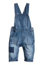 Denim dungarees - Denim blue - Kids | H&M 1