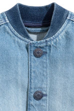 Giacca da baseball in denim - Blu denim -  | H&M IT 2