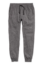 Jersey pyjama bottoms - Black marl - Men | H&M CN 2