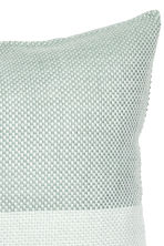 Block-patterned cushion cover - Dusky green - Home All | H&M CN 3