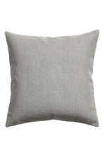 Textured cushion cover - Grey - Home All | H&M CN 2