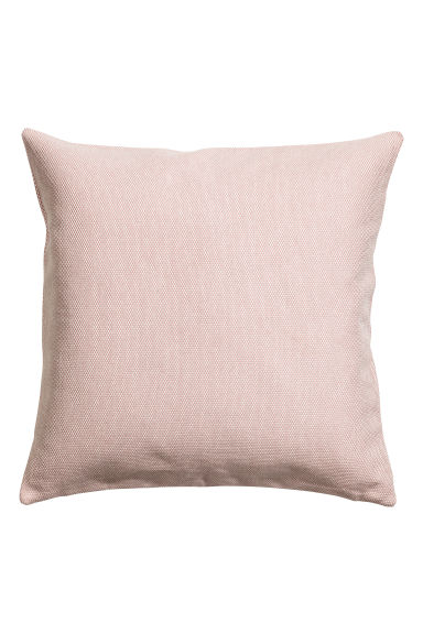 Textured cushion cover - Dusky pink - Home All | H&M CN 1