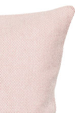 Textured cushion cover - Dusky pink - Home All | H&M CN 2