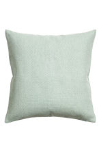 Textured cushion cover - Dusky green - Home All | H&M CN 1