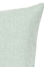 Textured cushion cover - Dusky green - Home All | H&M CN 2