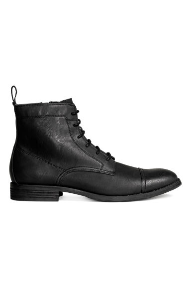 Zipped boots - Black - Men | H&M