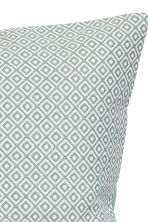 Jacquard-weave cushion cover - Dusky green - Home All | H&M CN 2