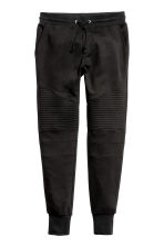 Biker joggers - Black - Men | H&M 2