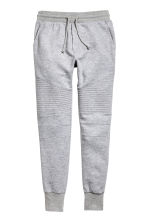 Biker joggers - Grey marl - Men | H&M CN 2