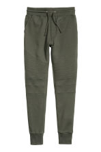 Biker joggers - Dark khaki green - Men | H&M 2