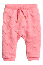 Joggers - Pink/Heart - Kids | H&M 1