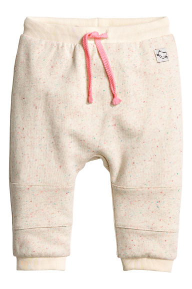 Joggers - Natural white marl - Kids | H&M CN 1