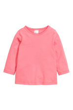 2-pack long-sleeved tops - Pink -  | H&M 2