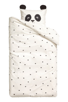 Spot-print duvet cover set
