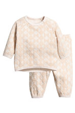 Sweatshirt set - Light beige - Kids | H&M 1