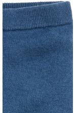 Fine-knit cashmere trousers - Blue - Kids | H&M 2