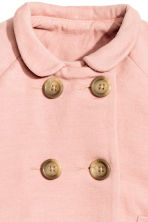 Wool-blend coat - Powder pink - Kids | H&M CN 4