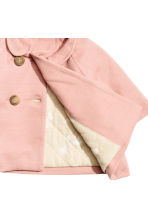 Wool-blend coat - Powder pink - Kids | H&M CN 2