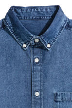 Denim shirt - Denim blue - Men | H&M 3