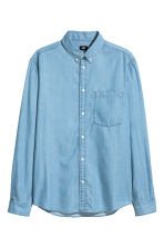 Denim shirt - Light denim blue - Men | H&M CN 2