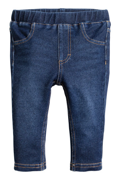 Treggings - Dark denim blue -  | H&M
