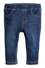 緊身褲 - Dark denim blue -  | H&M 1
