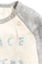 Long-sleeved top - Natural white - Kids | H&M 2