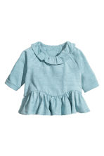 Flounced top - Dusky blue - Kids | H&M 1