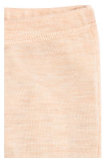 Wool jersey leggings - Beige marl - Kids | H&M 2