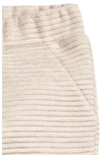 Textured jersey trousers - Light beige - Kids | H&M CN 2