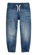 Denim joggers - Denim blue -  | H&M 2