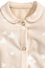 All-in-one pyjamas - Light beige - Kids | H&M 2