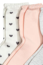 7-pack socks - Dark grey/Hearts - Kids | H&M 2