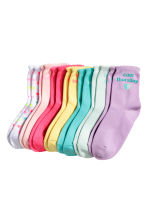 7-pack socks - Light yellow - Kids | H&M 2