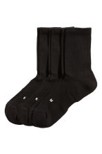 3-pack sports socks - Black - Men | H&M IE 1