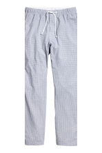 Pyjamas - White/Checked - Men | H&M 4