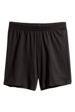 Pyjamas with a top and shorts - Black/Pink - Men | H&M CN 2