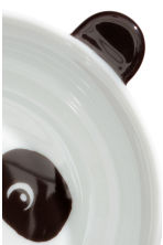 Animal-motif bowl - White/Panda - Home All | H&M CN 3