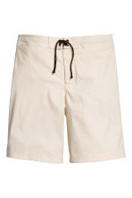 Knee-length swim shorts - Light beige - Men | H&M CA 2