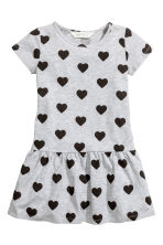 Jersey dress - Grey heart - Kids | H&M 2