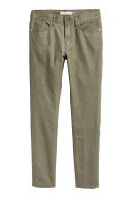 Skinny Regular Jeans - Khaki green - Men | H&M CN 2