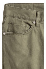 Skinny Regular Jeans - Khaki green - Men | H&M CN 4