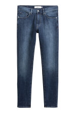 Skinny Regular Jeans - Dark denim blue -  | H&M 3