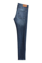 Skinny Regular Jeans - Dark denim blue -  | H&M 2